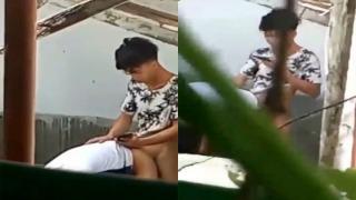 Pinay Huli Ang Iyotan Sa Bakanteng Lote